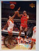 "1995-96 UPPER DECK MICHAEL JORDAN ELECTRIC COURT #137, ""The Rookie Years"""