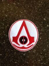 Assassins Black Flag And Superhero Deadpool Embroidered Patch Applique