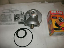 TRIUMPH TR6 OIL FILTER CONVERSION KIT/ADAPTOR KIT W FILTER,CONVERT TO SPIN ON