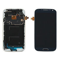 LCD Display Touch Screen Digitizer + Frame KTOG For Samsung Galaxy S4 i9505 Blue