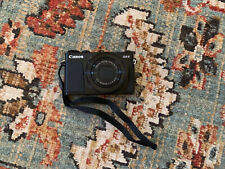 Canon PowerShot G9 X Mark II 20.1MP Digital Camera - Black.