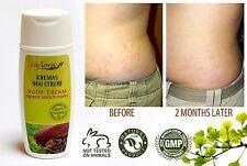 Effective Natural Body Cream Against Stretch Marks SAFLORA 100 ml / 3.4 oz