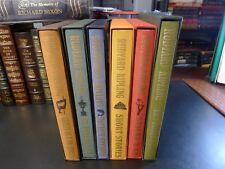 Folio Society RUDYARD KIPLING SET, 6 Vols., S/C, Literature, Illustrated