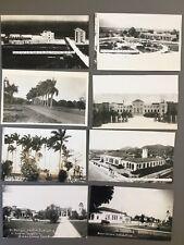 Lot Of 8 RPPC Postcards Isle Of Pines Cuba