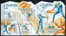 SALOMONINSELN Solomon 2012 Olympiade Olympics London Kleinbogen  ** MNH