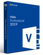 Genuine Visio 2019 Professional - 1 PC 32/64 bits