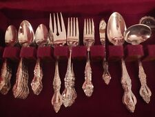 Estia Silverplate flatware ESI 10 Floral set for 8 +xtra tspn soup 5 serving pcs