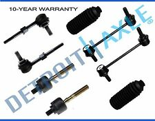 New 8pc Kit: Front/Rear Sway Bar Links + Inner Tie Rod Links + Boots for Prelude