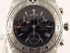 Sector Stainless Steel Women's Chronograph Watch MINT Condition Rare