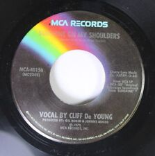 Rock 45 Cliff Deyoung - Sunshine On My Shoulder / My Sweet Lady On Mca Records