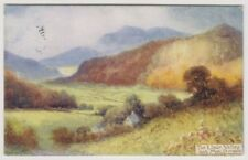 Wales postcard - The Lledr Valley and Moel Siabod - P/U 1909 (A837)