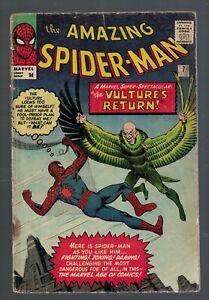 Marvel Comics Amazing Spiderman 7 G/VG 3.0 1963 2nd Vulture  appearance