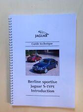 S-Type Jaguar - Guide Technique