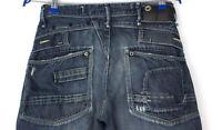 G-Star Brut Hommes Raff Jack Pantalon Jeans Jambe Droite Taille W30 L34 APZ1029