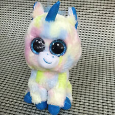 Soft Toy From TY BEANIES BOOS Blitz unicorn 6 inch Stuffed toy without  heart tag 40cc547ab08