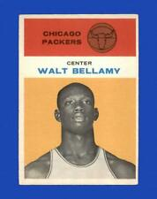 1961-62 Fleer Set Break # 4 Walt Bellamy EX-EXMINT *GMCARDS*