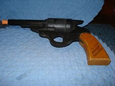 Vintage Ralston Cereal Tom Mix Wooden Gun W/ Revolving Cylinder From Radio Show