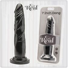 Sex Toys Dildo Realistico 7 Dong Black Get Real Toy Joy Sexyshop Falli Finto hot