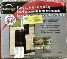 Shelter Logic Pop Up Canopy anchor Bags 4 READ