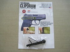 ClipDraw for S&W M&P Body Guard 380 Concealed Carry IWB Belt Clip Draw Holster