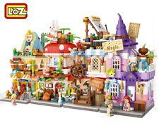 1519pcs LOZ Street mini Blocks Kids Building Toys Grils Puzzle 1649-1652 no box