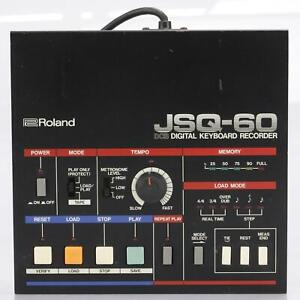 Roland JSQ-60 Digital Keyboard Rekorder/Sequenzer Für Juno-60 Jupiter-8 #42682
