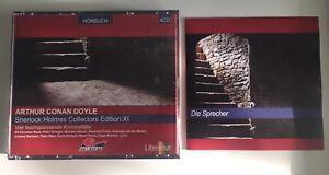 4 CD BOX SHERLOCK HOLMES XI MARITIM VGH Aud Hörspiel Sir Arthur Conan Doyle 2009