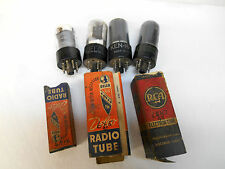 Vintage 40's 50's Lot Vacuum Tubes AMP HAM RADIO TV 50L6 35Z5 6SK7 6V6 6X5 6AV6