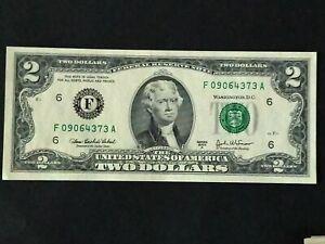 États-Unis billet 2 dollars 2003 en Neuf