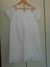Petite robe blanche légère Naf Naf t.38