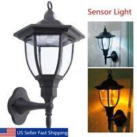 Retro Outdoor Wall Lantern Motion Sensor Lamp Sconce Light Fixture Garden Porch