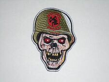 DIRTY ROTTEN IMBECILES D.R.I. EMBROIDERED PATCH
