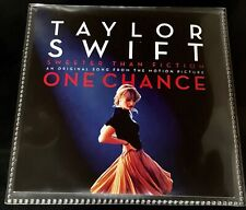RARE BRAZIL PROMO CD SINGLE TAYLOR SWIFT SWEETER THAN FICTION (ONE CHANCE FILM)