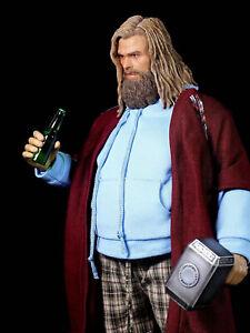 In-stock Woo Toys WO-004 WOO004 Fat Viking Thor 1/6 Action Figure Custom Kit