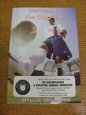 29/04/2007 Sheppey Sunday League Junior Cup Final: FC Entertainer v Fulston Zebr