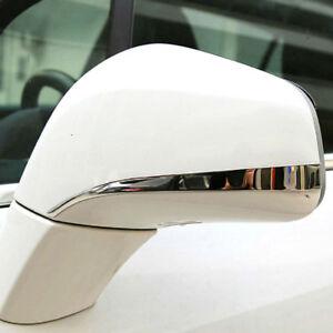 Chrome Rear View Side Mirror Cover Trim Strip Bezel For Opel Vauxhall Mokka Trax