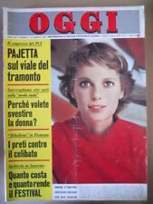 OGGI n°7 1969 Mia Farrow Festival di Sanremo Ida Galli Hepburn  [G802]