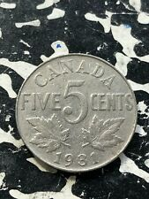 1931 Canada 5 Cents (9 Available) Circulated (1 Coin Only)