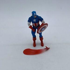 "Marvel Legends 6"" Captain America Retro Vintage Classic Avengers Steve Rogers MC"
