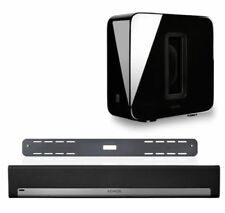 Sonos Playbar Home Theater System With Sub Wireless Subwoofer Black