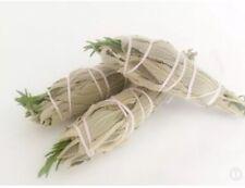 💜WHITE SAGE & ROSEMARY 🌿Smudge Stick, WILD HARVESTED