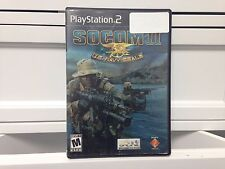 **PS2 Game: SOCOM 2: U.S. Navy Seals  Tested - Free Shipping!