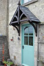 ASHCOMBE - Timber Door Canopies- Wooden front door porch canopy gallows bracket
