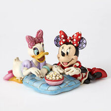 Jim Shore Disney Traditions Minnie Mouse & Daisy Duck Girls Night 4054282 NEW