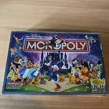 The Disney Edition Monopoly 2001 Hasbro Waddingtons 100% Complete Board Game