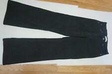 Women's Levi's 512 Perfectly Slimming Boot Cut Stretch Black Jeans Size 8M