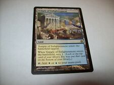 MTG X1 TEMPLE OF ENLIGHTENMENT LAND RARE BORN OF THE GODS FREE SHIPPING