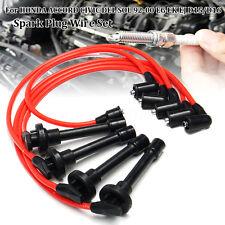 5pcs Spark Plug Wire Set For HONDA ACCORD CIVIC DEL SOL 92-00 EG EK EJ D15/D16