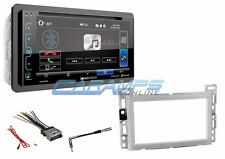 "NEW 6.2"" SOUNDSTREAM DOUBLE DIN STEREO RADIO & BLUETOOTH & INSTALL KIT W HARNESS"