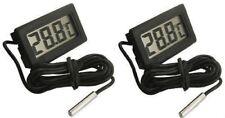 Digital Electronic External Thermometer Body Room Food Cooking Display Aquarium